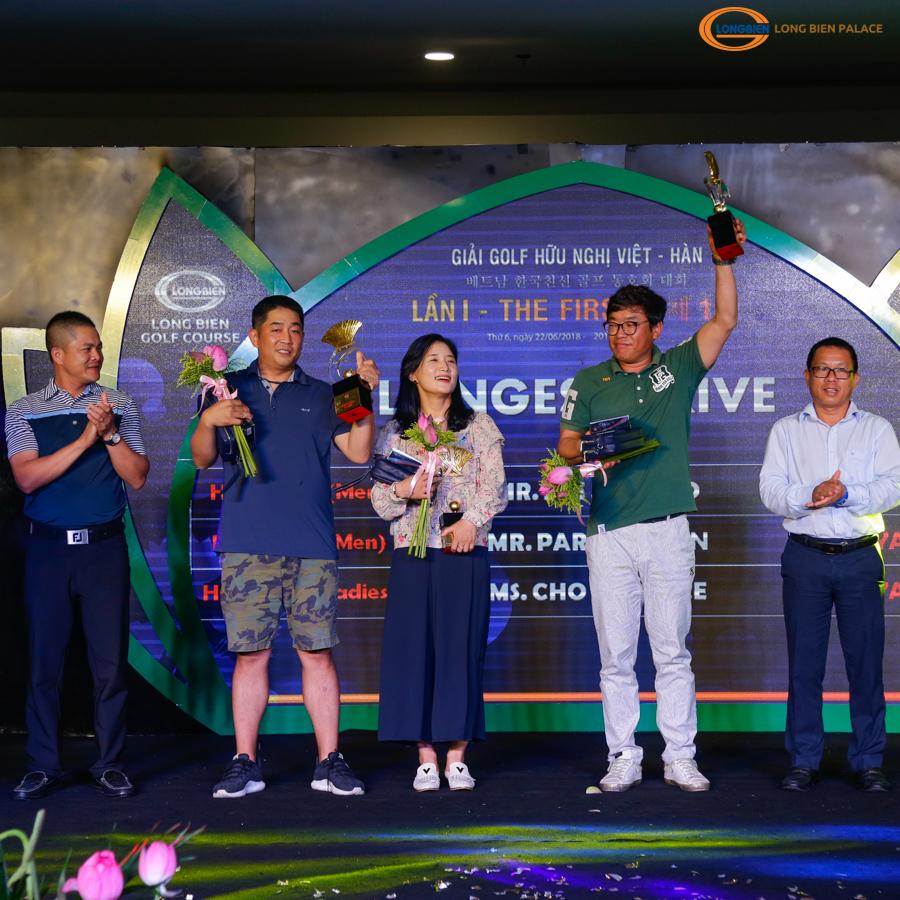 Giải Golf hữu nghị Việt – Hàn Lần I tại Sân Golf Long Biên 2018