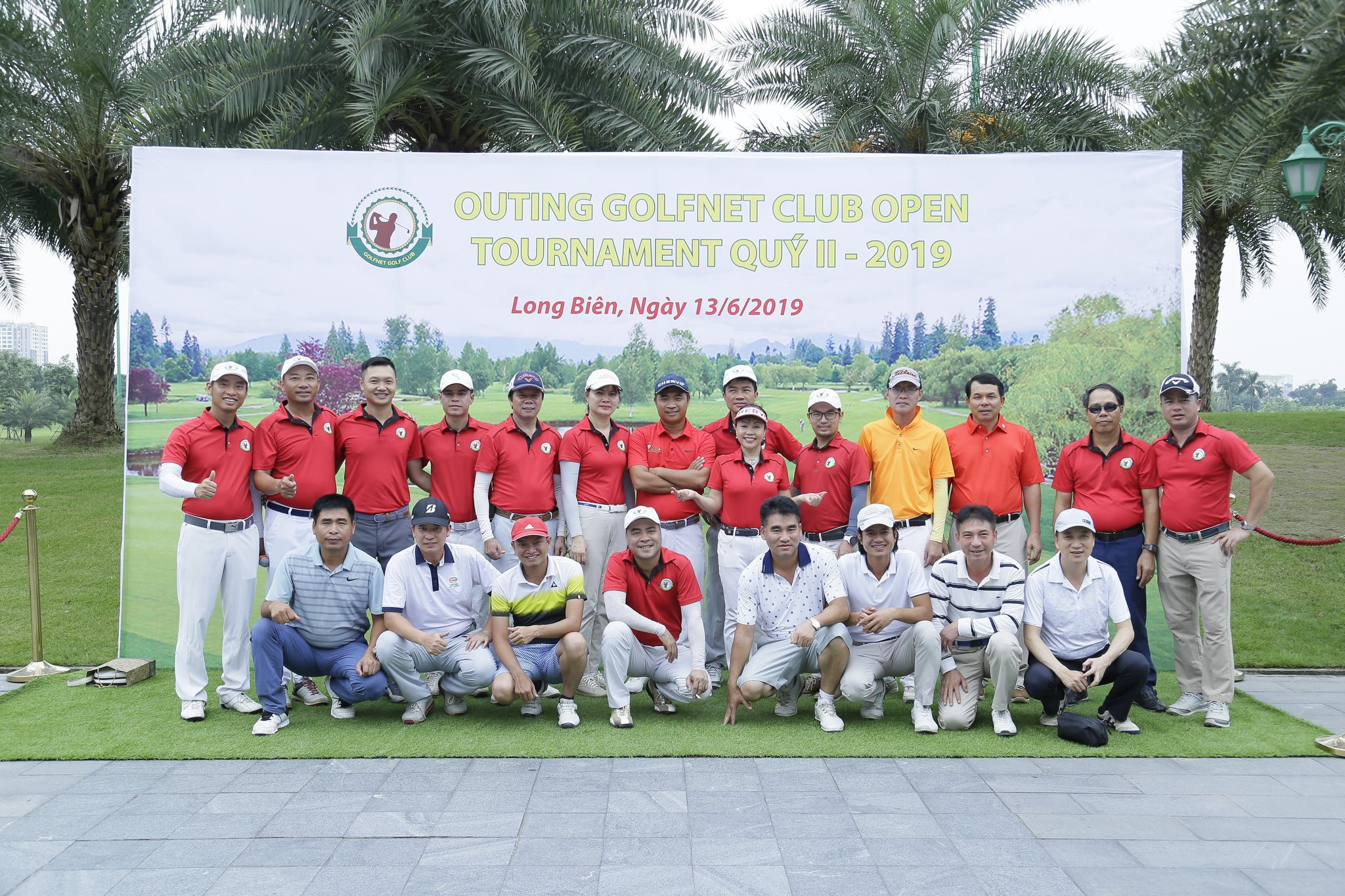 "GIẢI GOLF ""OUTING GOLFNET CLUB OPEN TOURNAMENT QUÝ II – 2019"""