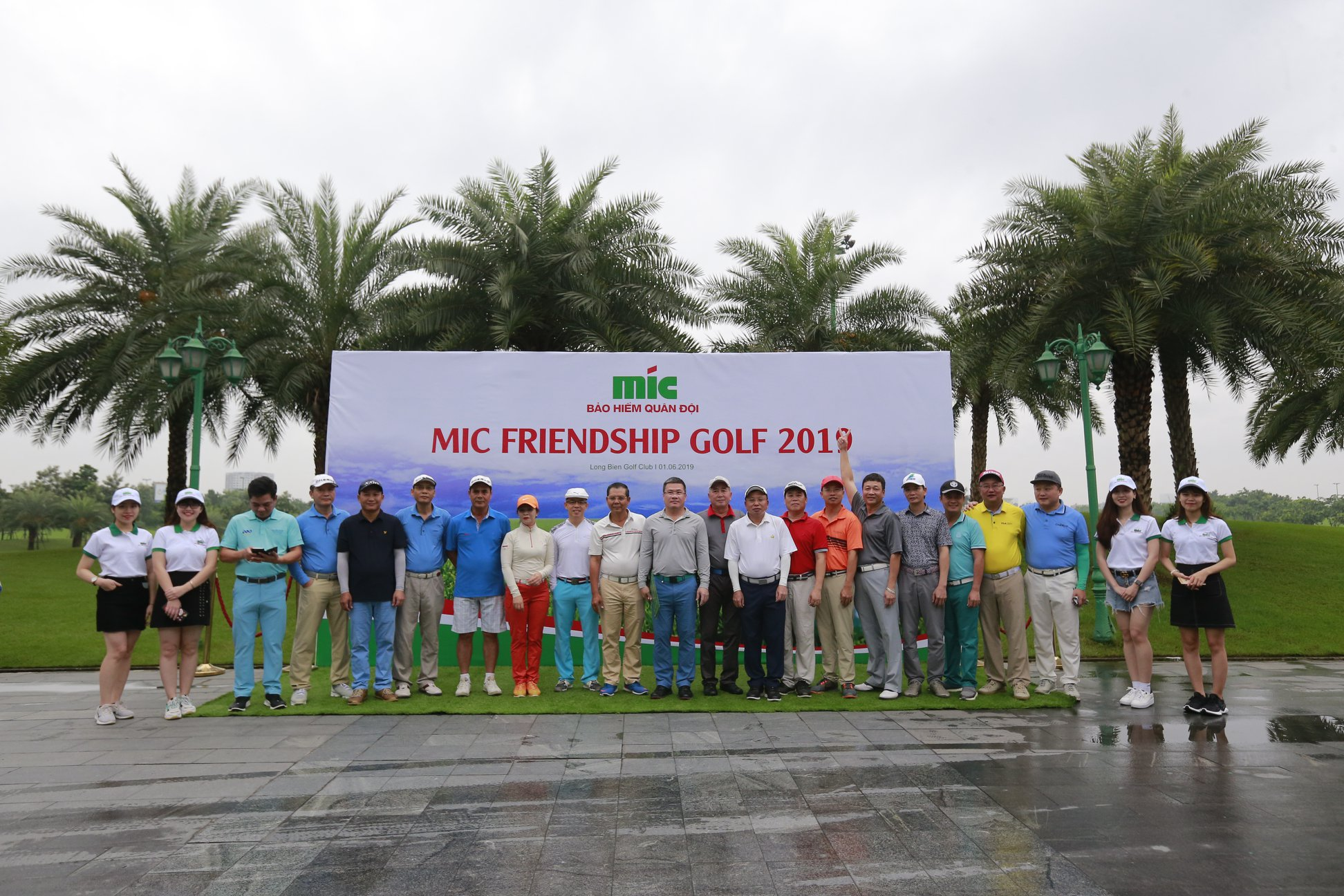 GIẢI GOLF MIC FRIENDSHIP 2019 - Sân golf Long Biên