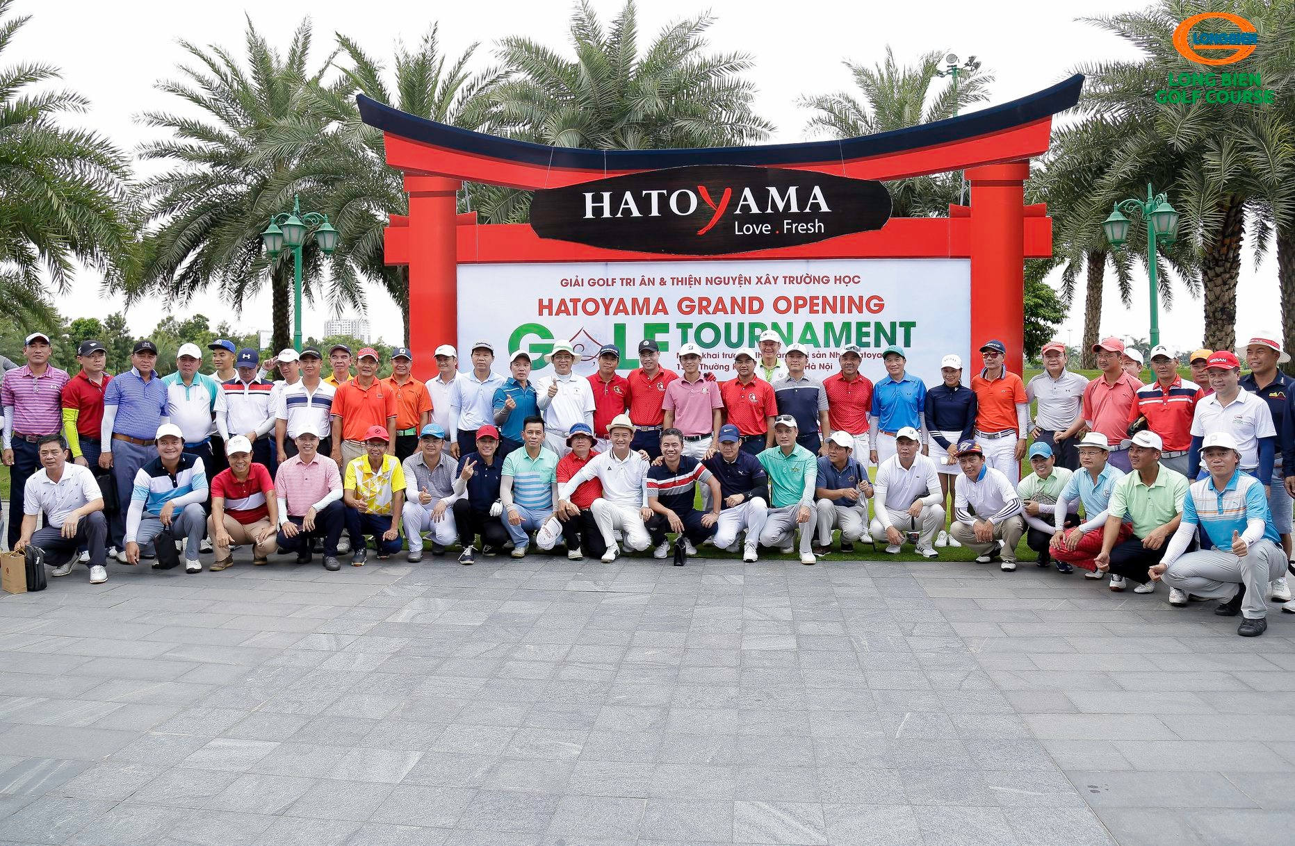 HATOYAMA GRAND OPENING GOLF TOURNAMENT