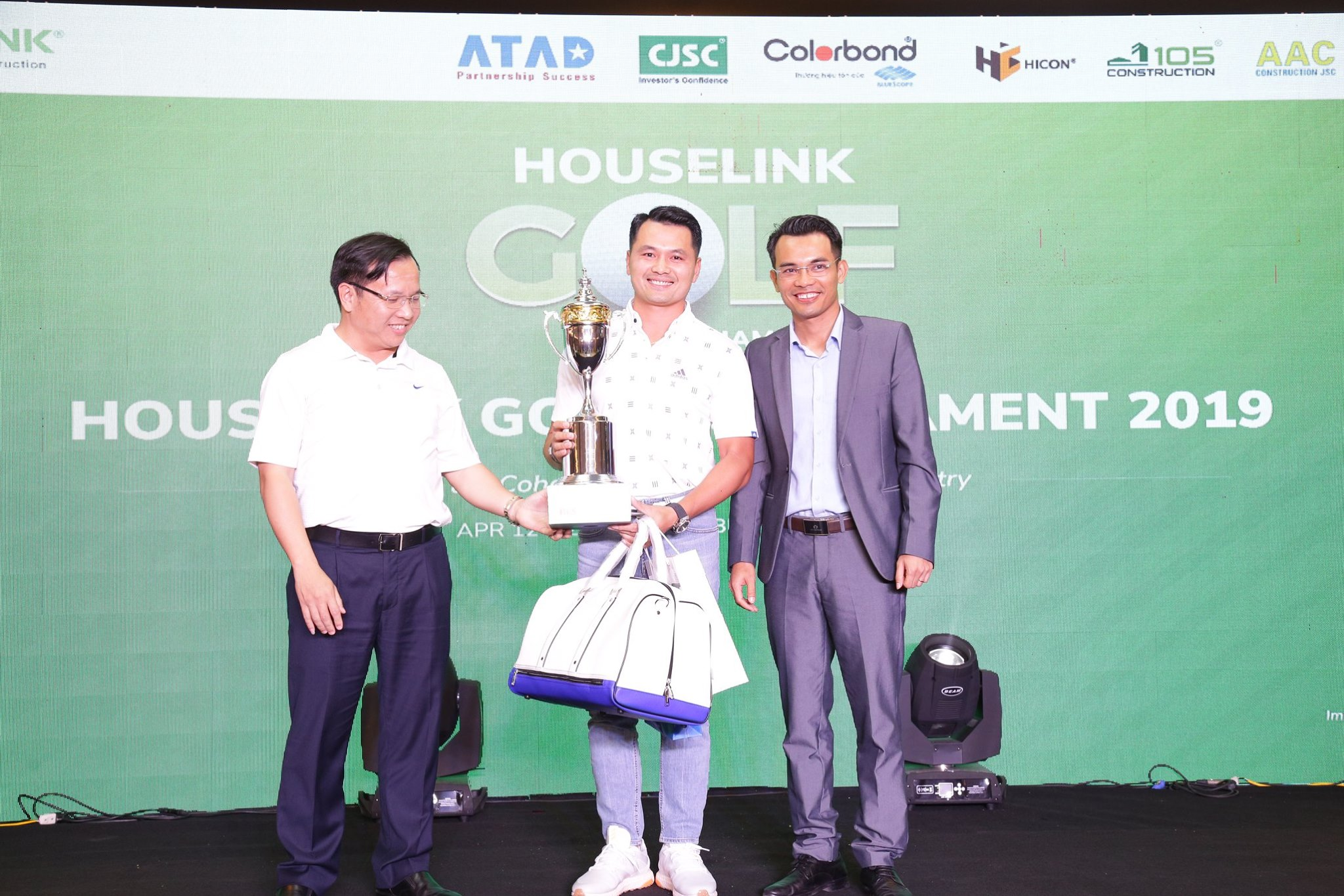 "Giải Golf ""Houselink Tournament 2019"" sân Golf Long Biên"