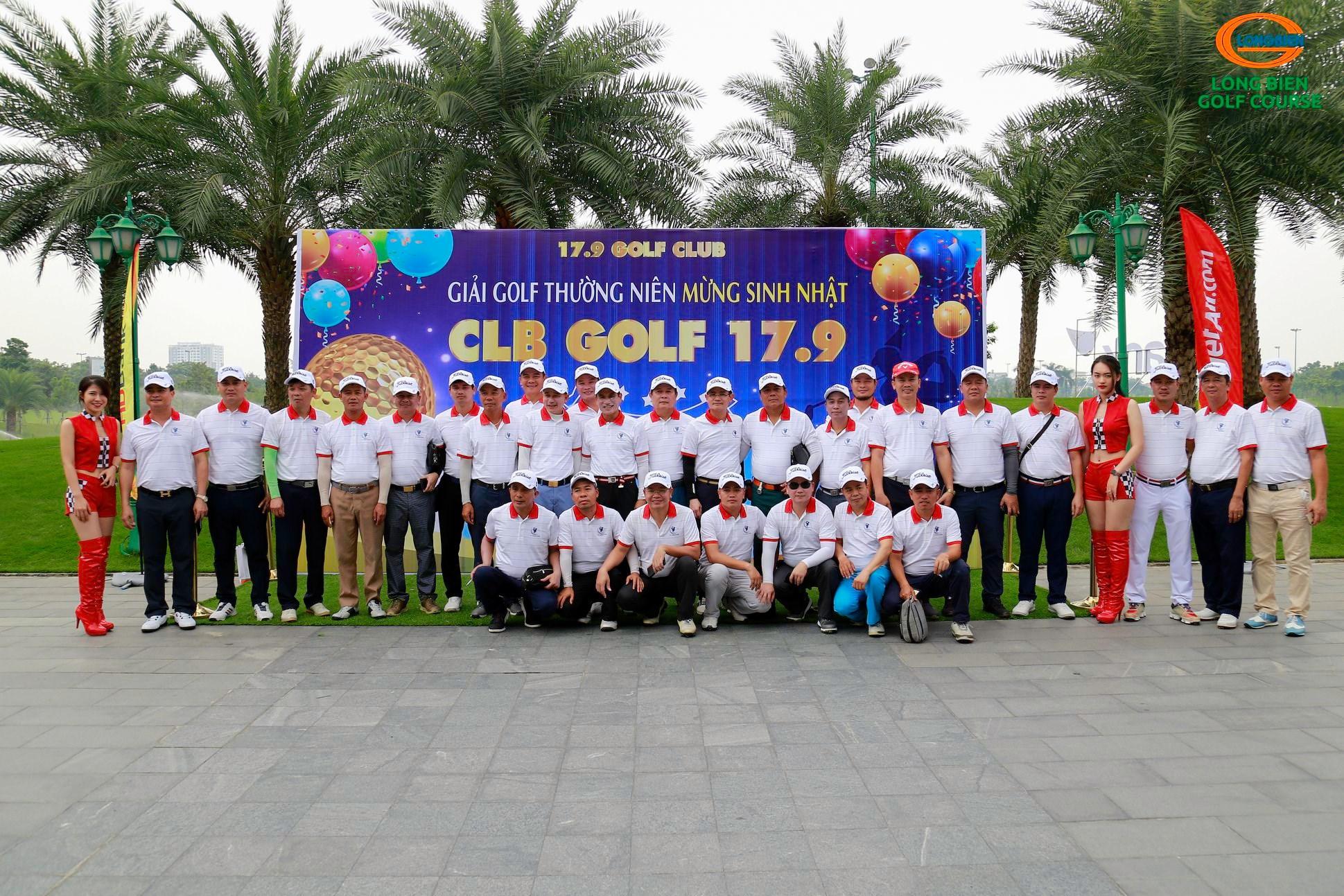 GIẢI GOLF THƯỜNG NIÊN MỪNG SINH NHẬT CLB 17.9