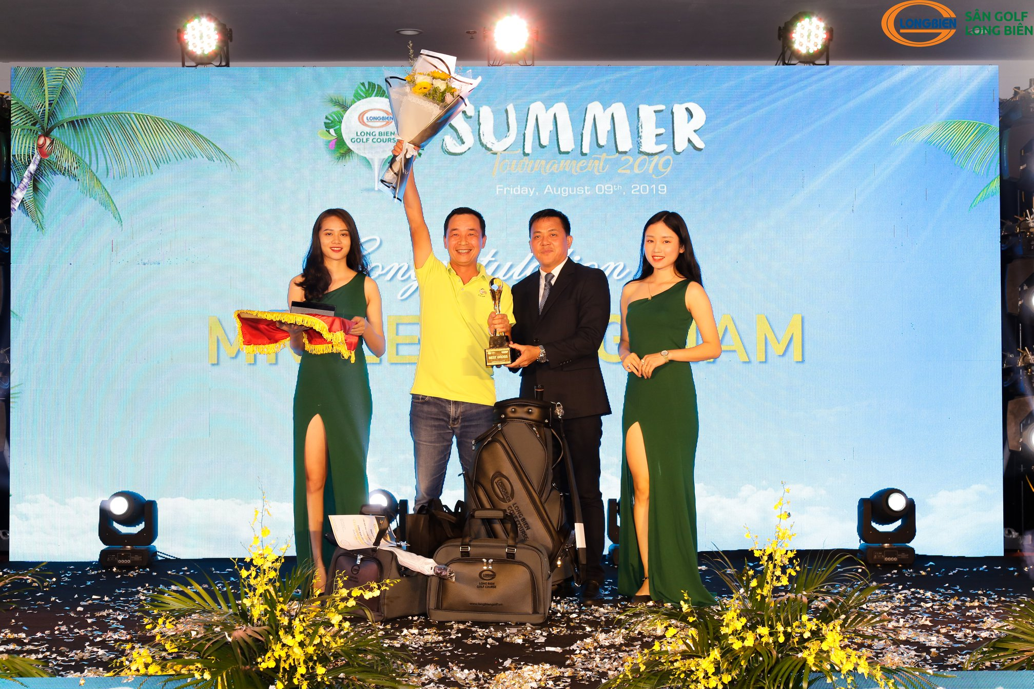 THƯ CẢM ƠN – LONG BIEN GOLF COURSE SUMMER TOURNAMENT 2019