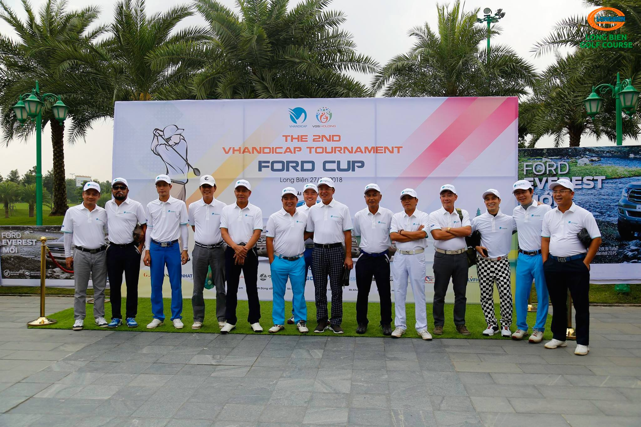 "Giải Golf ""The 2nd VHandicap Tournament – Ford Cup"""