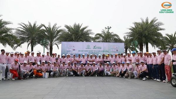 Giải Golf Doanh nghiệp trẻ Hà Nội vì Cộng đồng – CÚP SƠN HÀ 2018