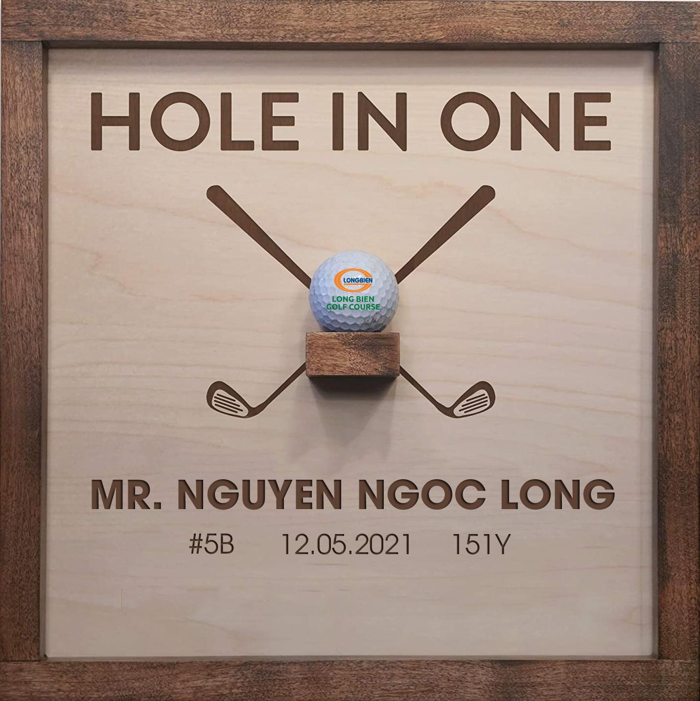 HOLE IN ONE BỞI GOLFER NGUYỄN NGỌC LONG