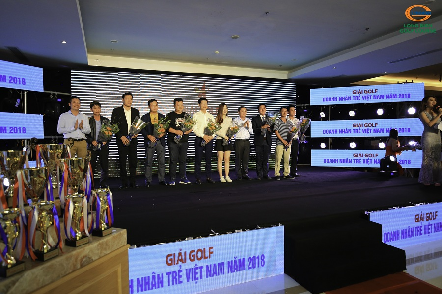 Kết quả giải Golf Doanh nhân trẻ toàn quốc mở rộng lần V năm 2018