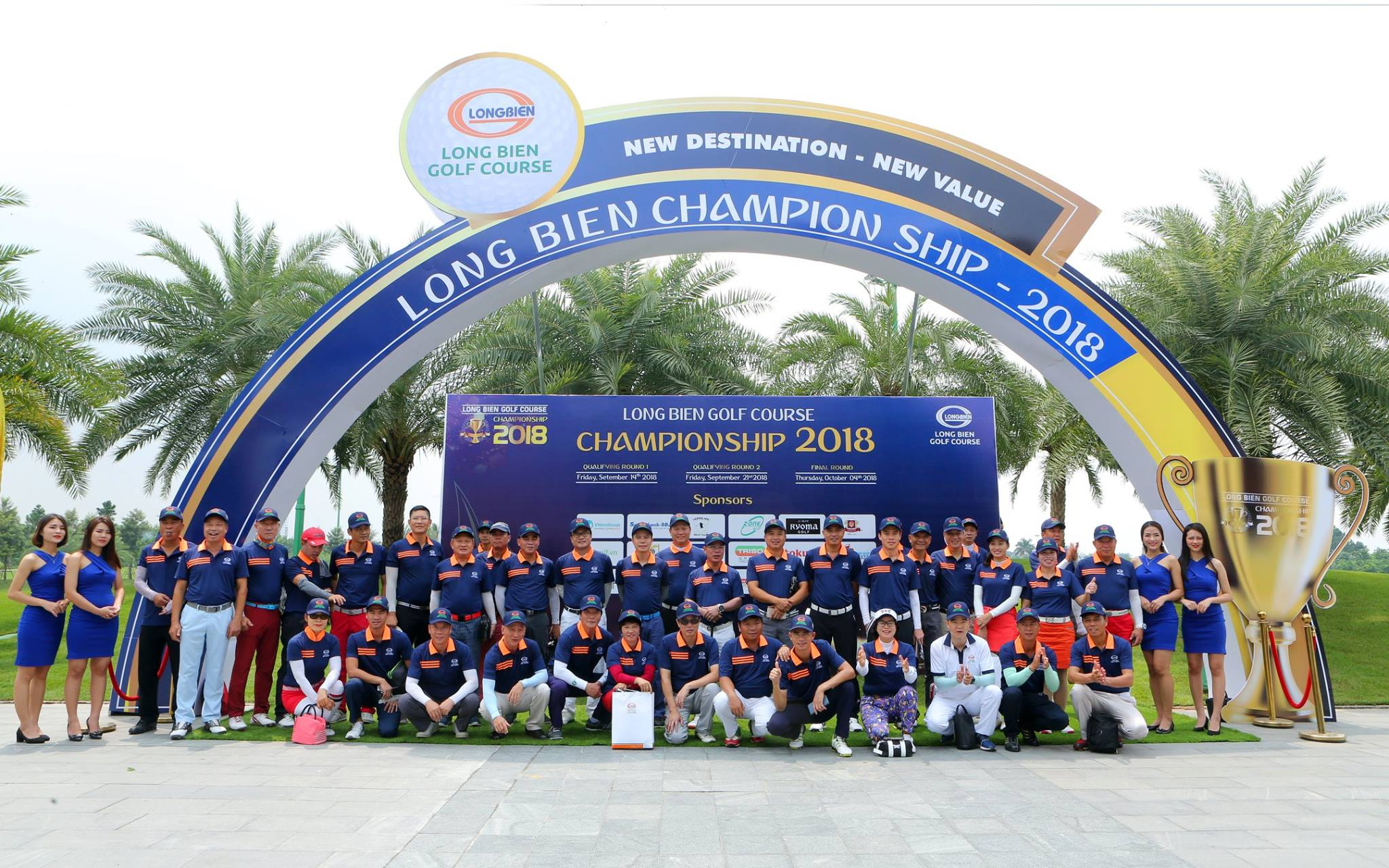 Long Bien Golf Course Championship 2018 Vòng loại 1